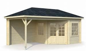 Gartenhaus Mit Aufbauservice : 5 eck gartenhaus melanie 6 8 u 8 3m mit vordach bei gartenhaus2000 ~ Whattoseeinmadrid.com Haus und Dekorationen