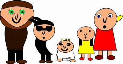 Clipart Cartoon Personnes Famille Clip Turqoise Grandparent