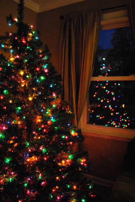 colorful christmas lights pictures   images