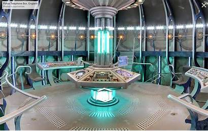 Tardis Doctor Console Interior Inside Dr Iphone