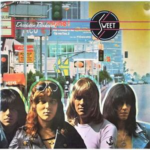 Desolation Boulevard By The Sweet  Lp With Vinyl59