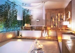 Salle De Bain Exotique : design salle de bains moderne en 104 id es super inspirantes ~ Teatrodelosmanantiales.com Idées de Décoration