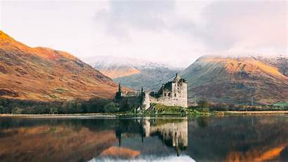Castle Scotland 4k Kilchurn Dalmally Wallpapers Lochawe