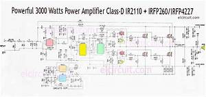 3000 Watts Power Amplifier Class D Mosfet Irfp260