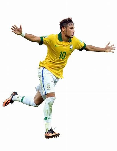 Neymar Football Brazil Goal Athlete Celebrate Render
