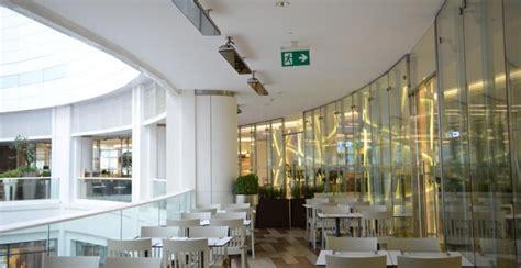 centre commercial buld air chauffage en plein air dans un centre commercial