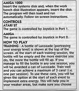 Atari ST Daley Thompson's Olympic Challenge : scans, dump ...
