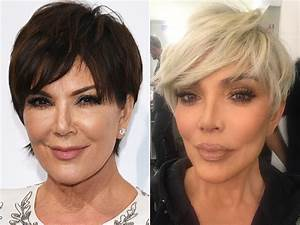 Kris Jenner Debuts New Blonde Pixie Cut to Welcome 2018 PEOPLE