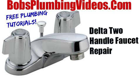 Replacing A Faucet Seat by How To Replace Delta Style Stems And Seats Cartridge