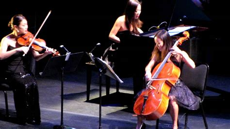 Ahn Trio Concert At Phillips Center