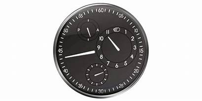 Minimal Spinning Hands Sleek Dials Constantly Replace
