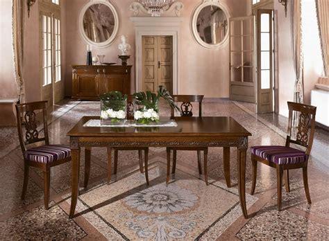 sale da pranzo stile classico tavolo allungabile in stile classico per sale da pranzo