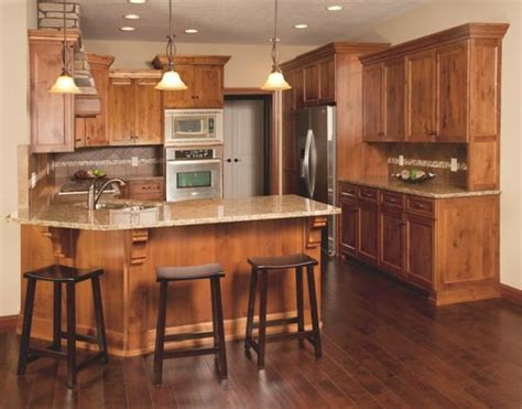 hardwood floors with kitchen cabinets knotty alder flooring gurus floor 8376