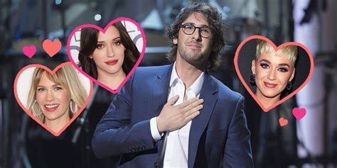 timeline  tony awards host josh grobans dating history