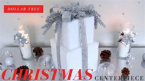 diy christmas centerpiece dollar tree diy christmas