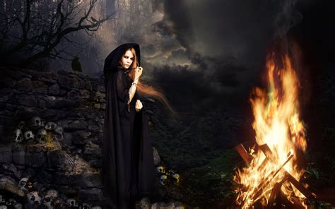 the witch and the wallpapers evil wallpapers