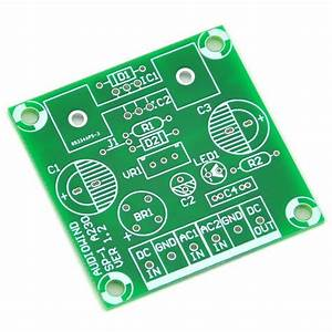 Voltage Regulator Pcb For Lm317 Or 78xx Series Ic