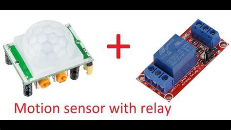 Pir Motion Sensor Detector Module With Relay