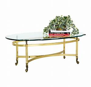 oval brass and glass cocktail table janney39s collection With oval brass and glass coffee table