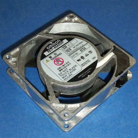omron 230v 92x92x25mm axial fan motor r87f a6a93hp ebay
