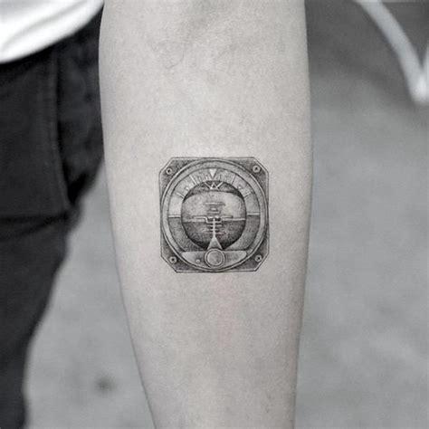 quarter sized tattoos  men mini design ideas