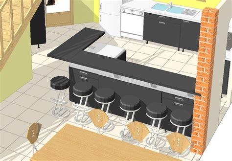 largeur bar cuisine premières réflexions sur la cuisine la maison de steph