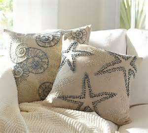 Pottery Barn Embroidered Pillow Covers