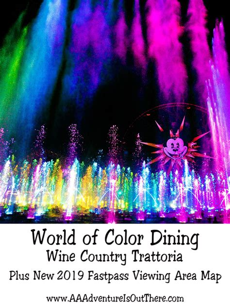 world of color dining world of color dining wine country trattoria