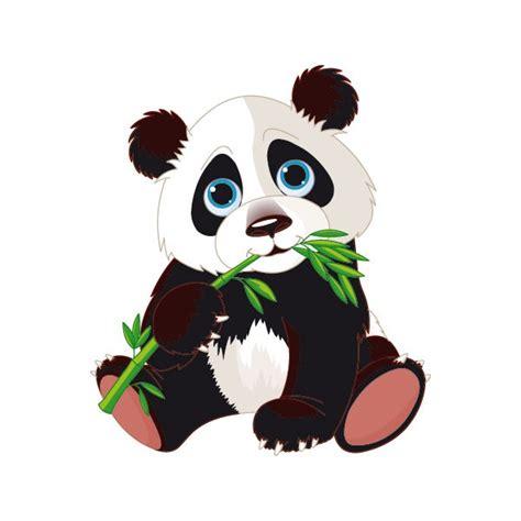 stickers chambres bébé stickers autocollants mural panda bambou