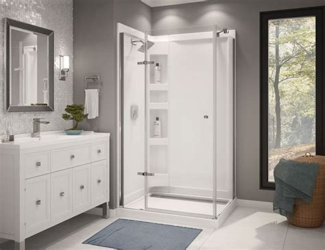 modern shower   minimalistic bathroom design http