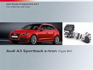 Vag Ssp 627  U2013 Audi A3 Sportback E-tron  Type 8v