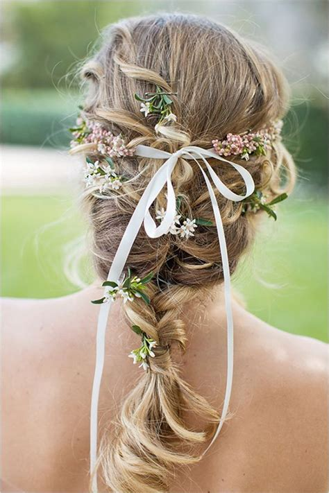 pretty hairstyles  ribbons pretty designs