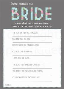 25 best ideas about bridal shower questions on pinterest With wedding shower for two grooms