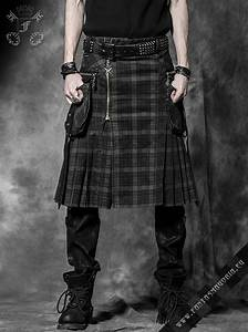 Berserk - kilt (men's skirt) by punk rave Q-225 #