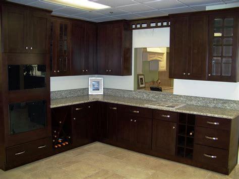 espresso color kitchen cabinets espresso cabinets kitchen color schemes emerson design