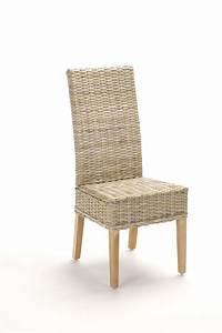 Chaise Rotin Gris : chaise en rotin gris tress kubu brin d 39 ouest ~ Teatrodelosmanantiales.com Idées de Décoration
