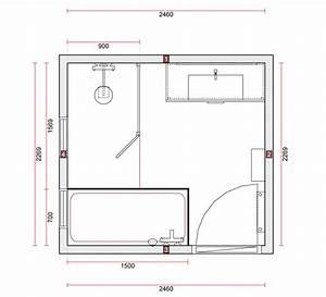 plan salle de bain architecte 20170927152554 tiawukcom With dessiner plan de maison 9 baignoire rectangulaire