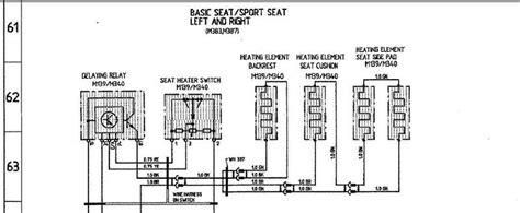 Saab 9 5 Seat Heater Wiring by Wiring Diagram For Saab Heated Seats Wiring Diagram