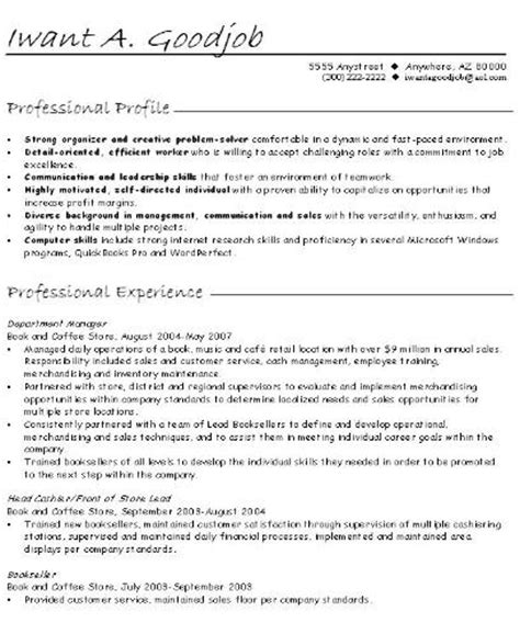 career change resume summary statement exles page title
