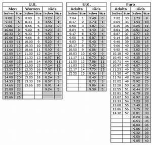 Shoe Size Conversion Chart By Sockruler Knit Crochet