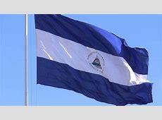 BANDERA DE NICARAGUA EN LA PLAZA DE LA REPUBLICA, MANAGUA