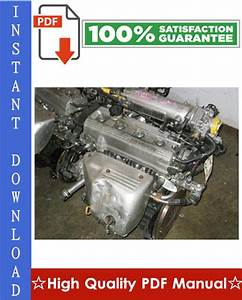 Toyota 3s-fe Engine Workshop Service Repair Manual