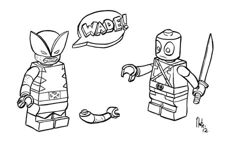 Lego Marvel Coloring Pages by 46 Lego Deadpool Coloring Pages Deadpool Coloring