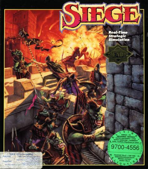 siege dos a dos siege 1992 dos box cover mobygames