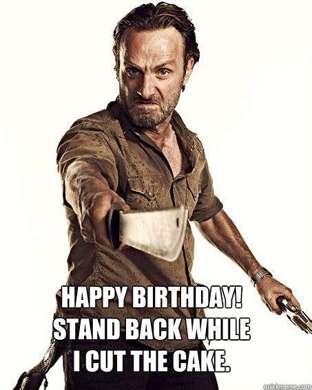 Walking Dead Birthday Meme - 1477 best the łk 239 ng de d images on pinterest