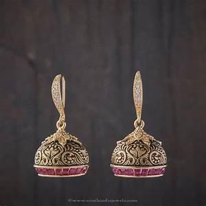 Imitation Designer Jhumka ~ South India Jewels