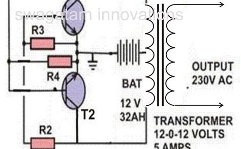 Free Wiring Diagram Simple Inverter Circuit