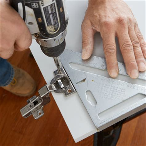 how to install cabinet hinges install the hinge cups how to install concealed