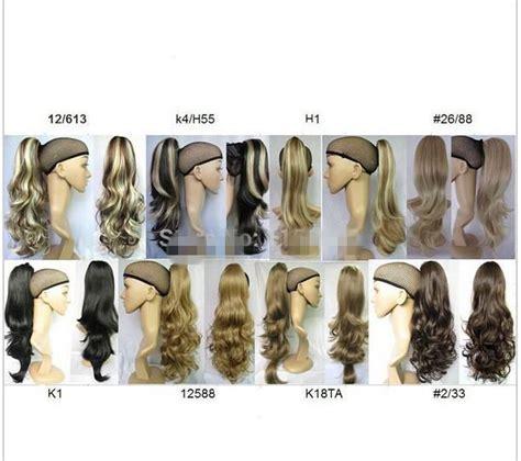 2014women Ponytail Hair Ponytails Synthetic Ponytail