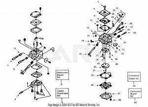 Poulan Pp395 Gas Saw  395 Gas Saw Parts Diagram For